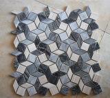 Pietra di marmo personalizzata Polished irregolare del mosaico delle mattonelle di mosaico