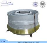 Mangan-Stahl Telsmith 36FT Kegel-Zerkleinerungsmaschine-Ersatzteil-Umhang und konkaves