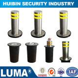 Poteau d'amarrage en hausse hydraulique automatique de l'acier inoxydable 304 pour le stationnement de véhicule