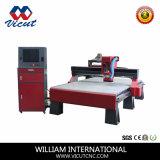 Máquina de estaca acrílica do CNC da madeira de metal (VCT-1325W)