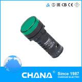 Indicador LED (AD22-22DFS) com marcação e aprovações RoHS