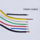 Thhn/Thwn-2 медных нейлоновая куртка с изоляцией из ПВХ кабеля электрического потенциала провод