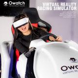 Pequeno espaço fácil de mover o exercício de Jogo de Realidade Virtual Vr simulador de condução de automóvel