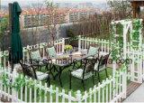 /Rattan esterno/presidenza & Tabella della fusion d'alluminio della mobilia hotel Patio//del giardino ha impostato (HS3172C&HS 7606DT)