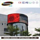 Heißer Verkauf P10 farbenreicher im Freienled-Bildschirm für Reklameanzeige