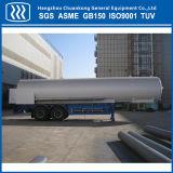 半51m3低温学の液化天然ガスのトレーラーのタンカーの交通機関タンク