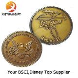Поставщик монеток главного качества изготовленный на заказ античный коммеморативный