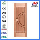 Chapa de madera contrachapada Interior moldeado de la piel de la puerta de madera (JHK-014)