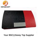 Carpeta de la tarjeta de crédito del sostenedor de la carpeta de aluminio (rojo del XL)