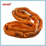 Imbracatura rotonda della tessitura del poliestere per alzare