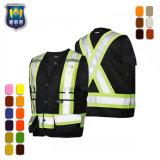 Het Vest Vis van Menshi van het Vest van Workwear van de veiligheid hallo