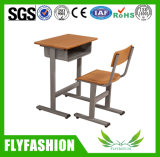 Madera ajustable duradera Mobiliario Escolar estudiante escritorio y silla (SF-11S)