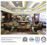 Kundenspezifische Hotel-Möbel für Vorhalle-Aufenthaltsraum-Sofa stellten ein (HL-T-2)
