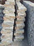 装飾または床タイルのための錆ついたスレートまたは壁または敷石または培養された石または培養されたスレート