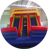 Berufslieferanten-riesiges aufblasbares trockenes Plättchen der Fabrik-9*4*4.5, Wasser-Plättchen für Erwachsenen, riesiges aufblasbares springendes Plättchen