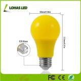 Nuevo bulbo 40W de la luz ámbar de la llegada A19 5W LED equivalente con la base del media E26