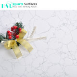 Carrara mármore branco de corte personalizado tampos de mesa de quartzo