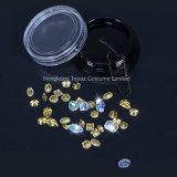 Het gemengde 3D Kristal van de Charmes van de Spijker/de Zilveren Duidelijke Decoratie van de Kunst van de Spijker van de Ketting van de Bergkristallen van het Kristal