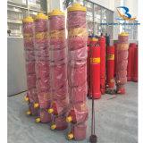 De lange Enige Hydraulische Cilinder van het Stadium voor de Vrachtwagen van de Stortplaats