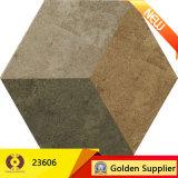 無作法なタイルの壁または床(23600)のための陶磁器の六角形のホーム装飾の床タイル