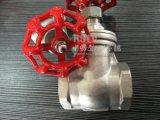 Литой корпус из нержавеющей стали Non-Rising внутреннюю резьбу штока клапана заслонки