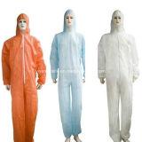 Vêtements de protection de combinaisons jetables non tissés