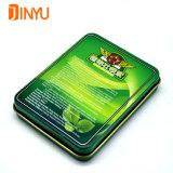 Grüne tadellose Blechdose für das Tablette-Verpacken und Förderung