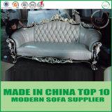 Europäische Luxuxmöbel-klassisches ledernes Sofa Chesterfield