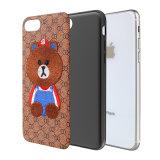 Brown-Bären-gestickter Handy-Kasten für Telefon-Großverkauf der Samsung-Galaxie-Anmerkungs-8