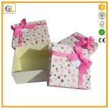 Caixa de empacotamento feita sob encomenda, caixa de presente de papel. Caixa de cartão