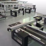 Imprimante à plat UV de DEL pour l'impression en aluminium acrylique de cylindre de forces de défense principale