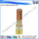 Низкий уровень дыма и ПВХ изоляцией/PVC пламенно/куб ленты показаны/витого/кабель щитка приборов