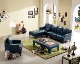 Divans et sofa à la maison modernes de cuir de L-Forme de meubles de salle de séjour