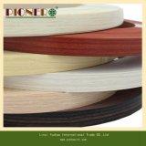 Cabinet/PVC Tape/PVC 단면도를 위한 목제 곡물 PVC 가장자리 악대