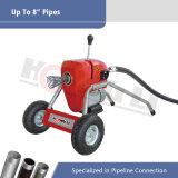 Vuotare gli strumenti di pulizia con la rotella (D200)