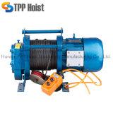 elektrische Hijstoestel van de Kabel van de Draad van 300/600kg 220V Kcd het Multifunctionele Kleine