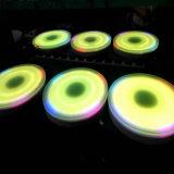 Wasserdichte Stadiums-Beleuchtung LED Dance Floor Kreis-interaktive Dance Floor-LED