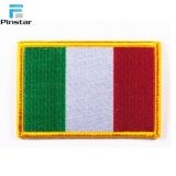 Высокое качество ручной работы Италия флаг обозначение одежды
