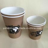 PLA biodegradables recubierto de vasos de papel para café 12oz.