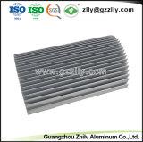 Pulido de alta calidad disipador de aluminio extruido