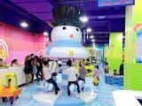 Pretpark van de Stijl van de sneeuw het BinnenVoor Kinderen