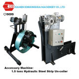 máquina de formação de rolos da estrutura de aço do Medidor de Luz