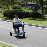 La CE aprobó 3 ruedas Scooter de movilidad eléctrica para personas con discapacidad