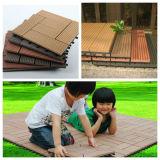 Facile installer le Decking en bois de Vinyle/anti plancher en plastique en bois de Corrossion
