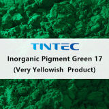プラスチックのための無機緑の顔料17 (非常に黄色がかった)