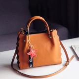 Bolsas da forma do saco de ombro da senhora Saco Novo Projeto Mulher do couro genuíno de Guangzhou Supllier Emg5237