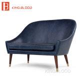 Комплект софы кресла кожи с сохранённым природным лицом 2 Seater малый итальянский секционный верхний