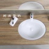 """浴室T1009bのための反対の洗面器の下の衛生製品陶磁器の22 """""""