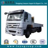 Camion resistente della gru 10tons delle rotelle di Sinotruk HOWO 10