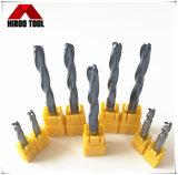 Moinhos de extremidade do Roughing do carboneto da qualidade superior HRC45 do fabricante